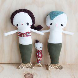 mermaid family - rousskine