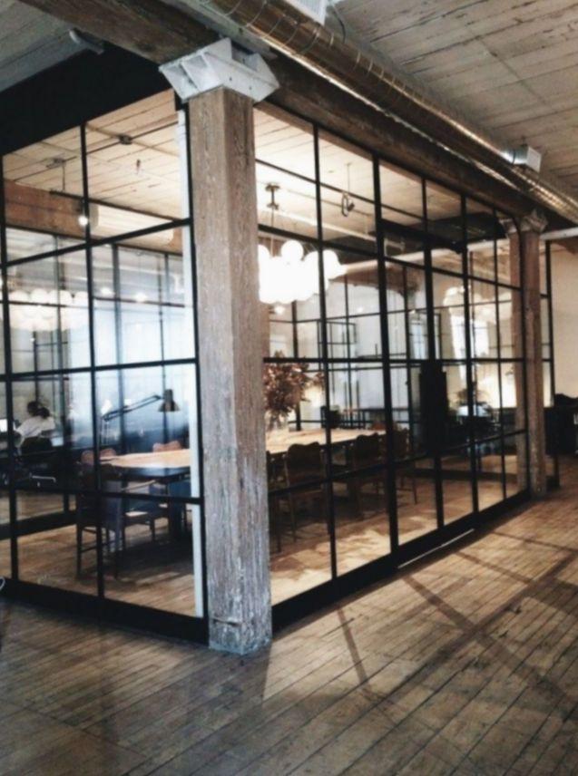 Office Design Loft Industrial Minimalistic Officeinspo Setup