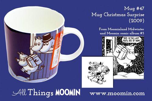 Moomin.com - Moomin mug Christmas surprise / juleoverraskelse / Christmasmug / julekopp 2009