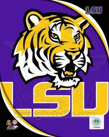 Louisiana State University Tigers Team Logo