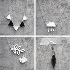 Fler smycken av krympplast - Idébank - DIY - Make & Create