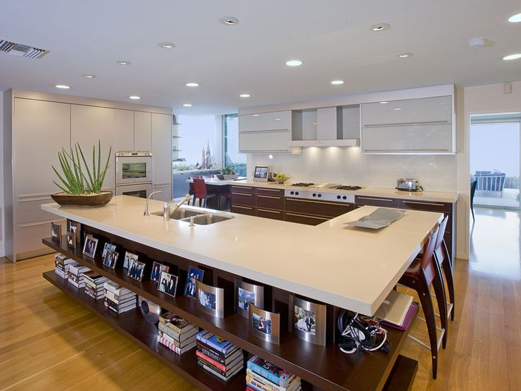 Best 27 Best Images About Large Modern Kitchens On Pinterest 400 x 300