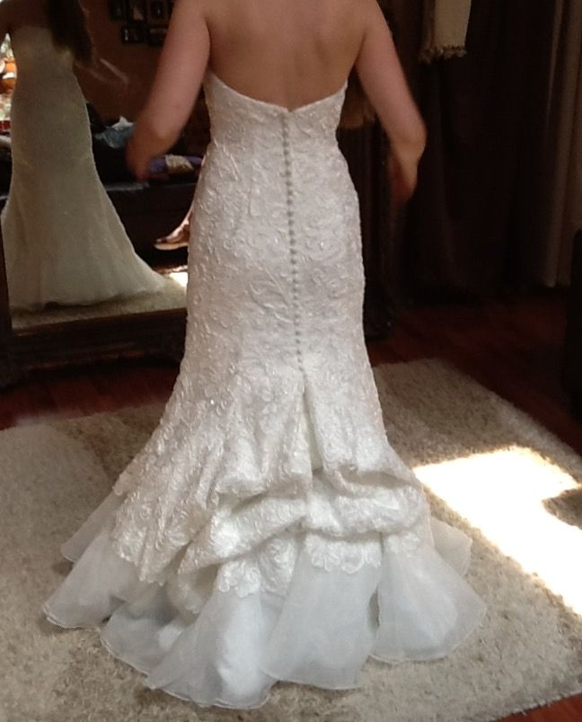 The 181 best Wedding Gown Bustle Styles images on Pinterest | Bustle ...