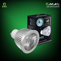 GU10 6w LED driverless spotlight, replacement fo 50w halogen spotlights