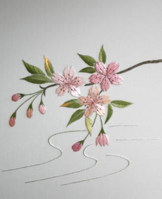 japanese embroidery art - Поиск в Google