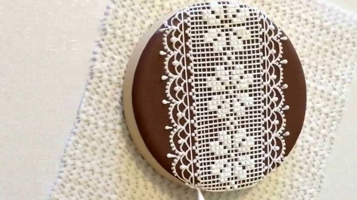 Lace cookie. Part 1.. My little bakery. CookieCon 2015.