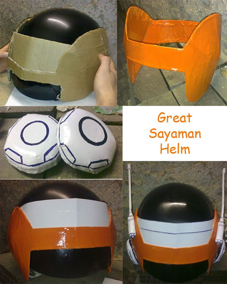 Great Saiyaman Helm cosplay by ~FardaDaCasino on deviantART