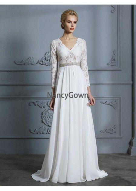 1a7dccdf06 NancyGown 2019 Beach Wedding Dresses T801524714761