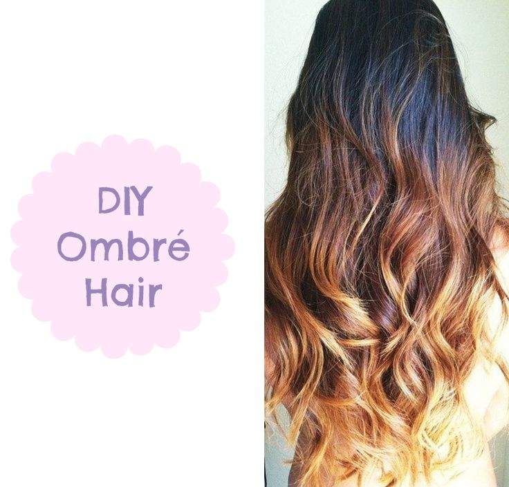 What is OMBRE hair? It's a style of hair, where the tips of the hair are lighter than the top part of the hair. How to dye your hair in OMBRE style?