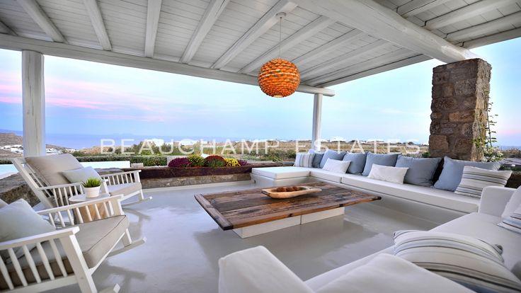 Villa Samira #luxury #villas #follow_us #greece #holidays #luxurytravel #mykonos #mymykonos #repost #villa #rentals #sunset #summer #white# #beauchampestates #beauchampestatesmykonos