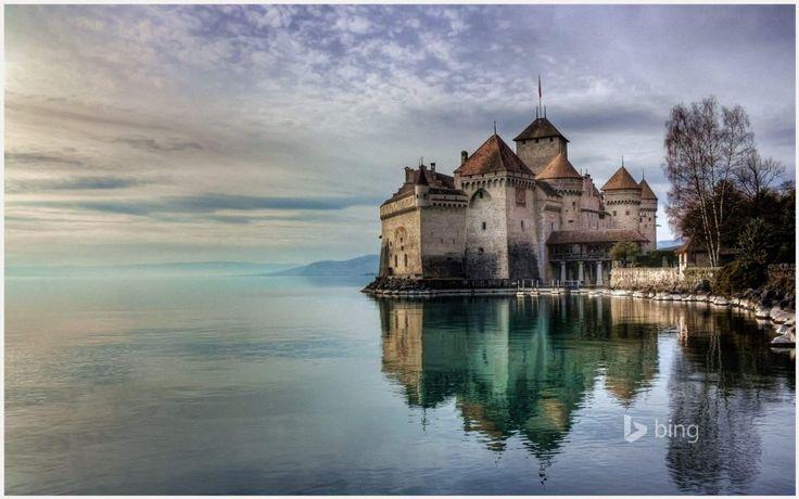 Chillon Castle Wallpaper | chillon castle wallpaper