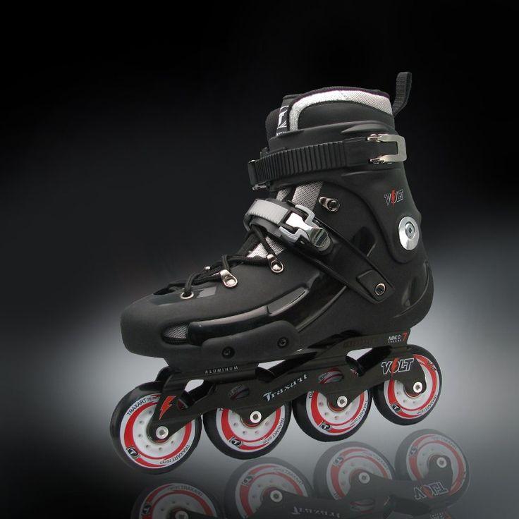 VOLT Rodas 76mm com centrais 80mm Chassis em aluminio Rolamentos ABEC-7 Suporta até 100Kg Moderno e reforçado este patins Freestyle possui base em alumínio, bota …