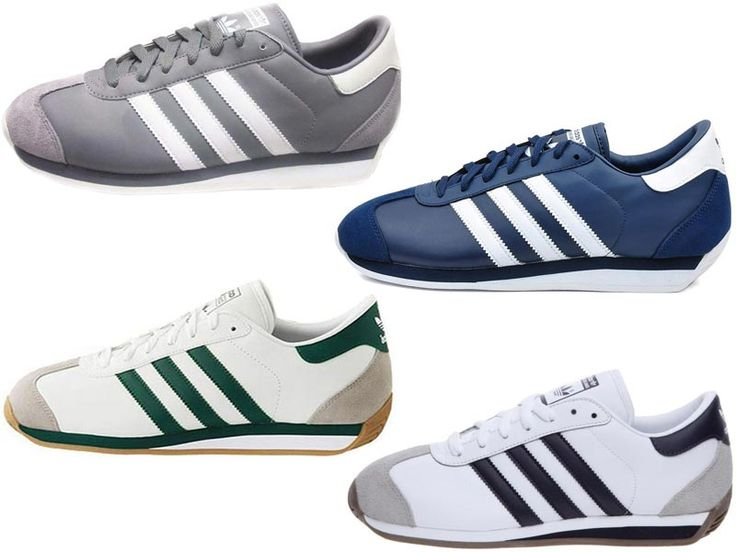 I thought Adidas Country tennis shoes were the best looking shoe I'd ever seen. I had the green striped ones. Stylin and profilin....