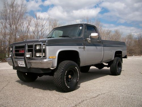 99 best chevrolet trucks images on pinterest chevrolet trucks 1985 chevrolet k10 silverado lifted jasper engine runs great 4x4 no sciox Choice Image
