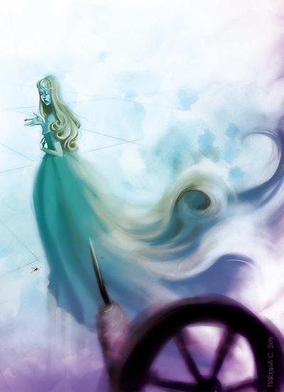 Aurora - Sleeping beauty Art Print