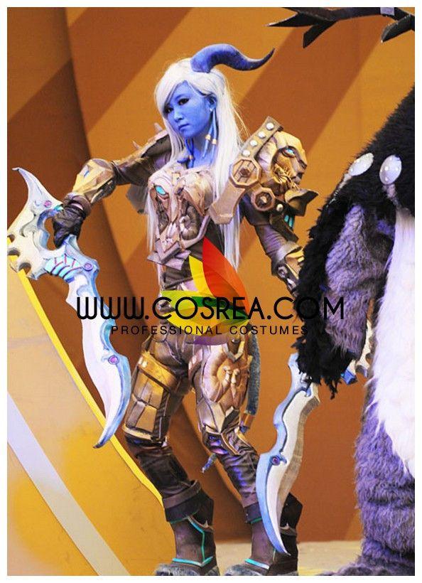 World of Wacraft Draenei Warrior T8 Cosplay Costume