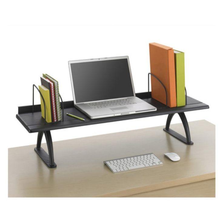 1000 ideas about desk riser on pinterest monitor stand computer desk organization and diy. Black Bedroom Furniture Sets. Home Design Ideas
