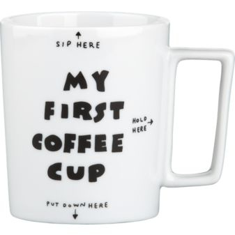 For little one (filled with milk of course:)Modern Furniture, Cb2 Collection, Home Accessories, Gift Ideas, Coffe Cups, Coffeeeeee Start, Dan Golden, Coffee Cups, Coffee Mugs