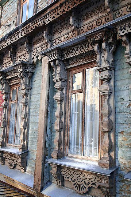 Wooden Ryazan, Central Russia
