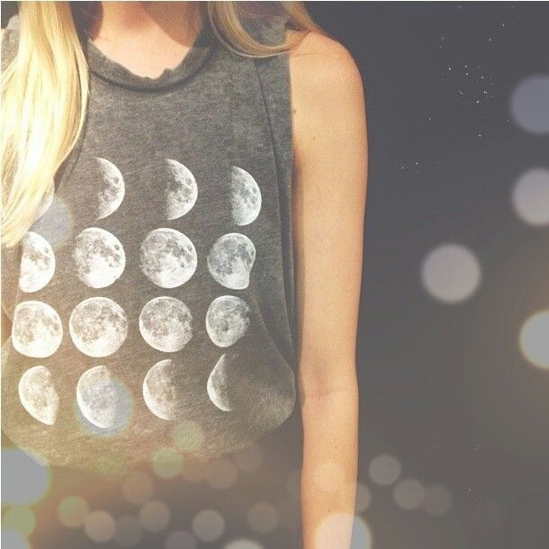 brandy melville moon phrases tank