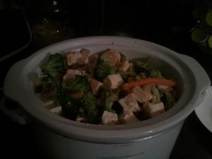 the Dirty Vegan: Tofu Crockpot Stir-fry Heaven