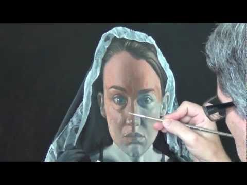 """▶ oil painting...glazing """"michele"""" - YouTube"""