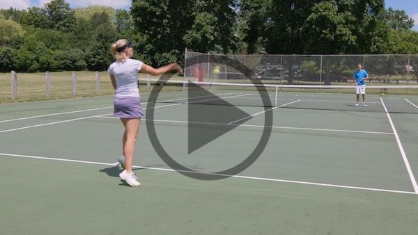 Learn How To Curve The Ball By Creating Huge Topspin On Your Forehand Side In 2020 Tennis Lessons Massive Tennis Tops