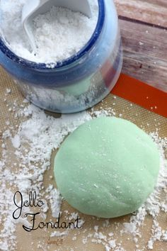 How to make delicious Jello Fondant. Easy and so much better than store bought.