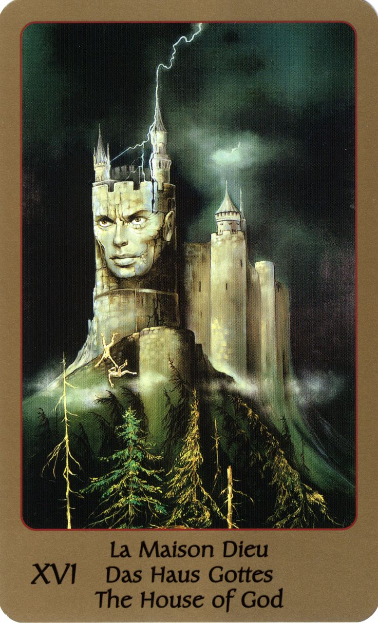 The House of God (The Tower) - Tarot of Eden