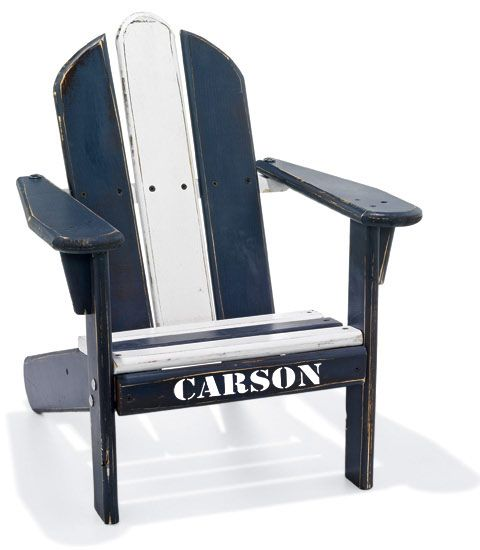 Personalized Adirondack Chair