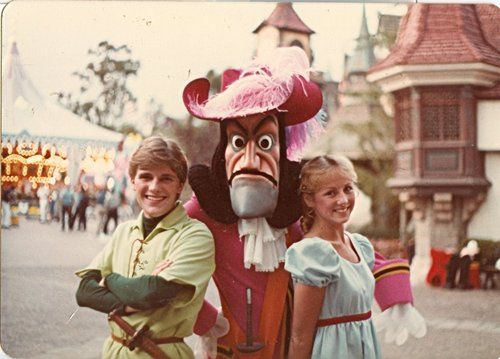Vintage Disneyland Peter Pan, Captain Hook, and Wendy, AWESOME!!!!