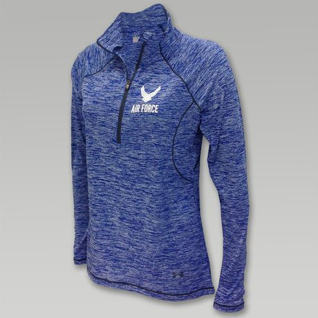 Under Armour Air Force Womens Twist Tech 1/4 Zip | http://www.zazzle.com/militarysinned/products
