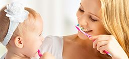 Expert shares timeline for child's dental health. Learn more. http://healthbeat.spectrumhealth.org/caring-for-babys-teeth-starts-before-birth/