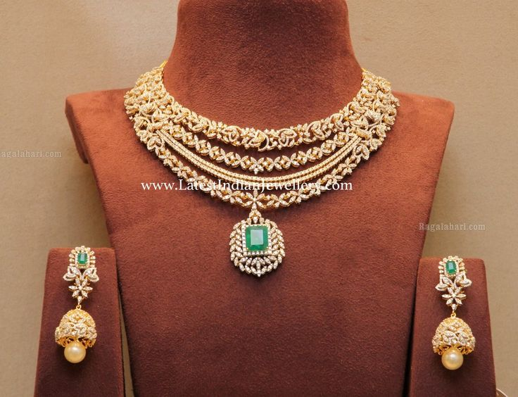 344 best jewellery designs images on Pinterest Diamond jewellery