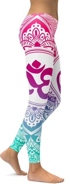 Legging Sport Gym Yoga Purple Ohm #leggings #legs #leging #leggin #mandala #yoga #inspiration #sport #danse #dance #meditate #meditation