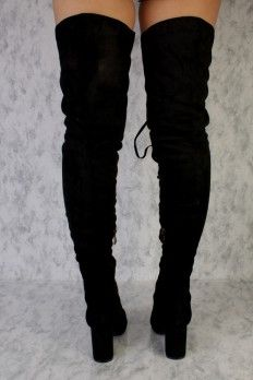 Thigh High Boots, Cheap Women's Thigh High Boots, Sexy Over the Knee, Lace Up (Page 3)