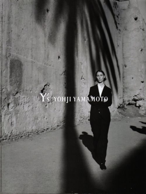 >>> Y's yohji yamamoto. palm tree shadow