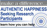 the authentic happiness site has the best questionnaires on the web regarding happiness/depression and figuring out our strengths.