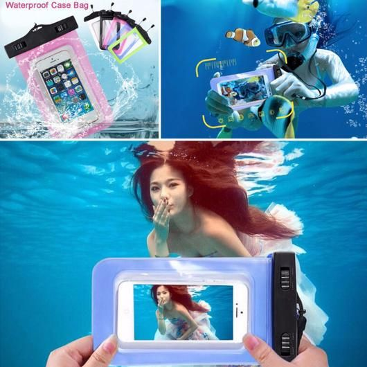 Sealed Waterproof Phone Case  www.therealnomad.com