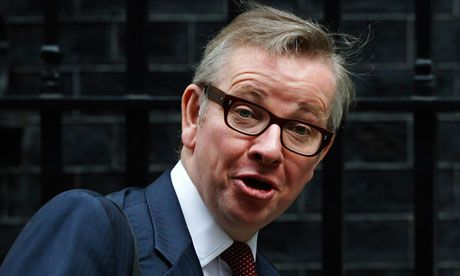 10.10.13: Guardian: London free school headteacher with no teaching qualifications quits  |  Michael Gove has called for more people without teaching qualifications to take over schools.