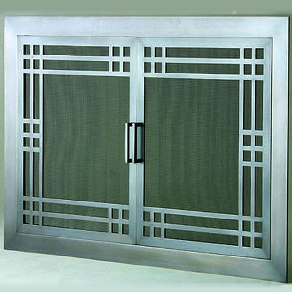 craftsman fireplace screen