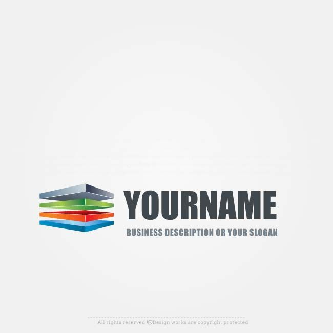 Ready made Stack logo design for sale. Make a logo online, Use our free logo maker tochange your business name,colors,fonts, text & more.