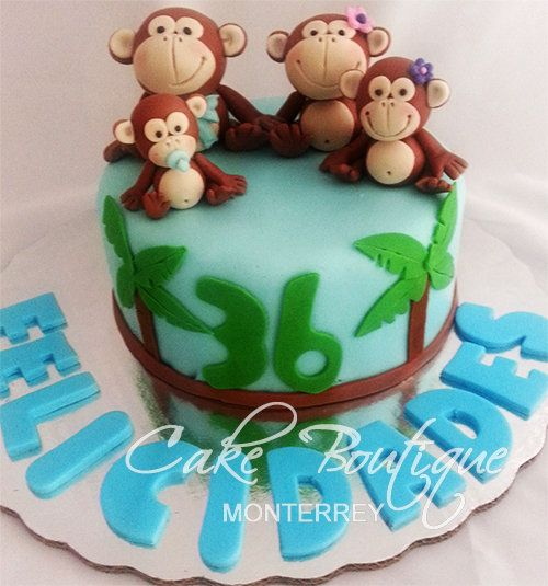 Monkeys Cakes And Cookies