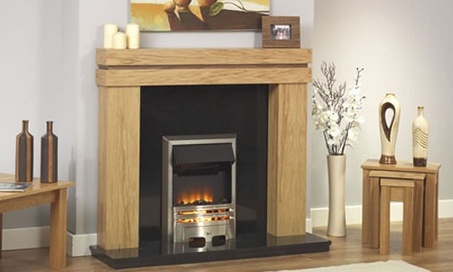 Boss contemporary fireplace