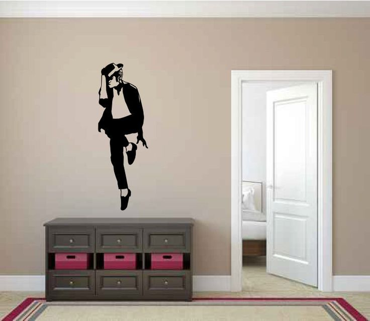 Best Jackson Images On Pinterest Michael Jackson Painting - How to make vinyl wall decals with cricut