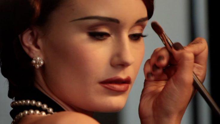 Vintage Makeup Tutorial - Classic 1930's Look - Part1