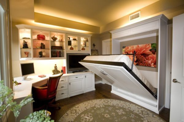 Fold down beds – a huge space-saving solution for all types of homes