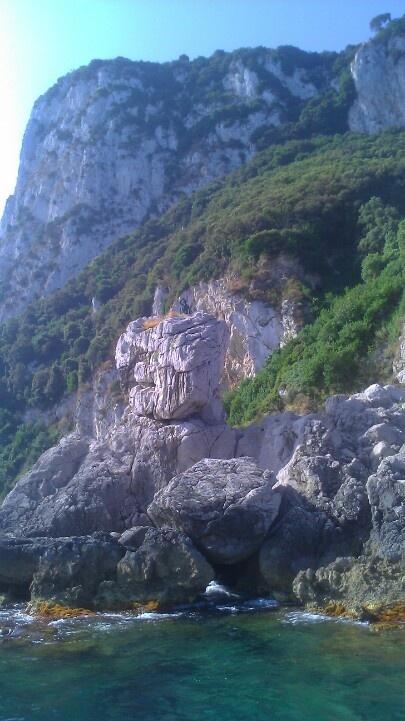 Capri Island In Italy - 112356512 image & stock photo  |Capri Beach Scenes