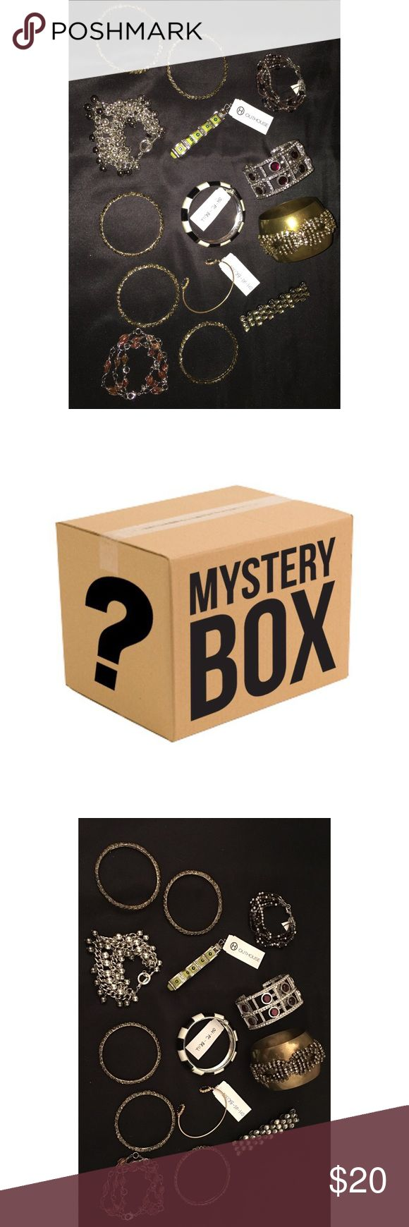 Mystery Box??? Designer Fashion Jewelry Bracelets This Listing Is For Designer Fashion Jewelry Bracelets! The Sale Will Include 5 Bracelets Selected At Complete Random! Some Of The Bracelets Below Could Be Included! Gorgeous Jewelry! Great Buy!!!! Brands Include....OUTHOUSE, J.Crew, Chico's, Free People, Anthropologie And Many More!!!! Don't Miss Out On Your Amazing Surprise Box! NO ITEMS WILL BE THE SAME ALL ITEMS WILL BE DIFFERENT!!!! Free People Jewelry Bracelets