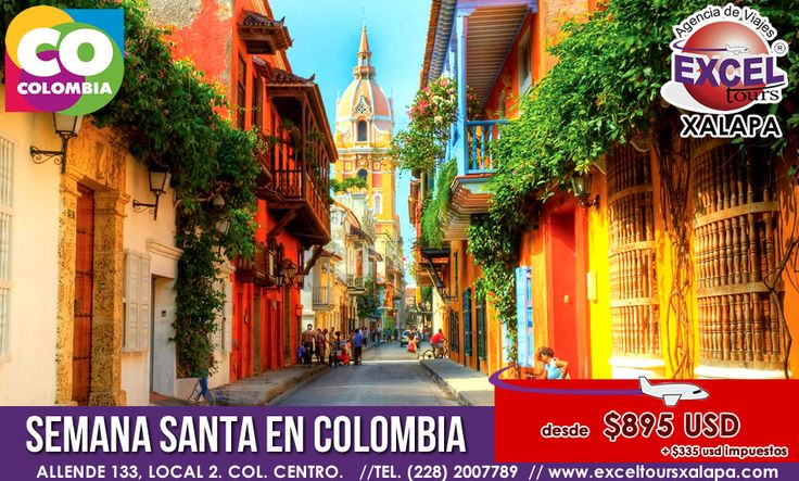 Disfruta de unas vacaciones de semana santa en el país del Realismo Mágico, La respuesta es COLOMBIA!